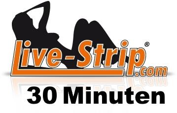 Gutschein Live Strip 30 Minuten