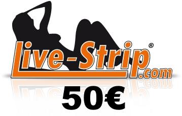 live-strip gutschein 50 euro